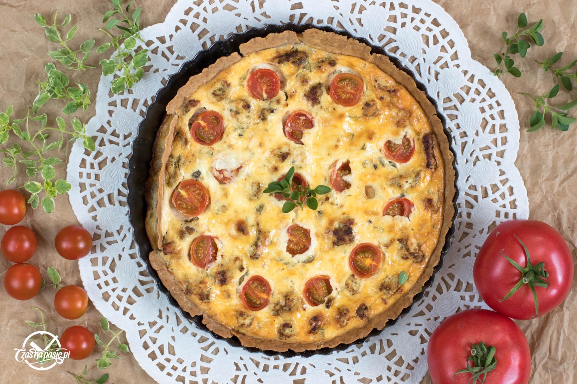 tarta-z-pomidorami -i-kurczakiem